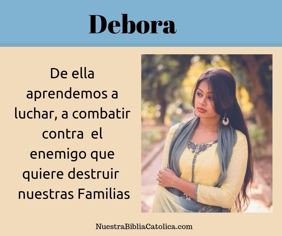 Quien fue Debora en la Biblia