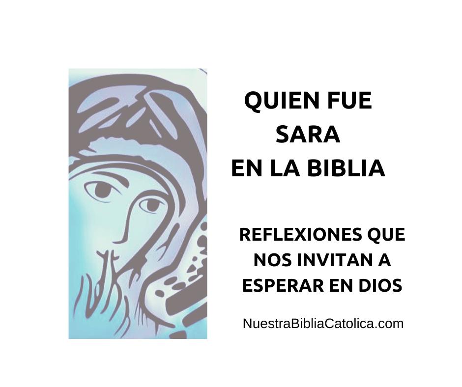 QUIEN ERA SARA EN LA BIBLIA